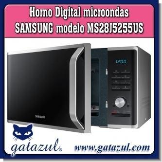 GA18052901:  HORNO DIGITAL MICROONDAS SAMSUNG MODELO MS28J5255US