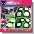 HERMOSA VAJILLA CLASICA DE PORCELANA COLOR CAFE CON ACABADO MATE DE 16 PIEZAS