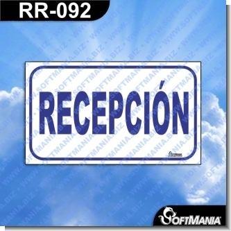 Lee el articulo completo Rotulo Prefabricado - RECEPCION