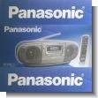 Grabadora RX-250 plateada para CD