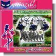 SET DE TE DE CERAMICA CON 6 TAZITAS, 6 PLATITOS Y SOPORTE DE METAL