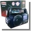 LINTERNA RECARGABLE LED CON RADIO AM/FM/SW