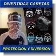 DIVERTIDAS CARETAS ANTI-COVID - CON EL DIBUJO DE TU PERSONAJE FAVORITO