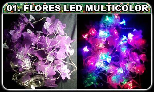 Selecciona lo que desees! (01. Flores LED multicolores ¢2,500.00)