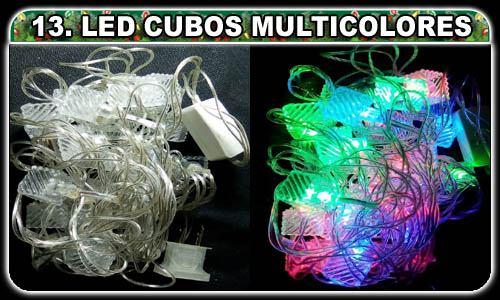 Selecciona lo que desees! (13. Cubitos LED 100 luces multicolores ¢3,000.00)