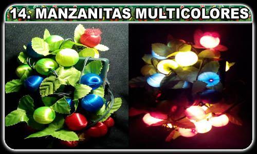 Selecciona lo que desees! (14. Manzanitas LED 100 luces multicolores ¢3,000.00)