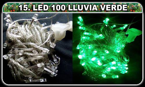 Selecciona lo que desees! (15. Lluvia verde LED 100 luces ¢2,000.00)